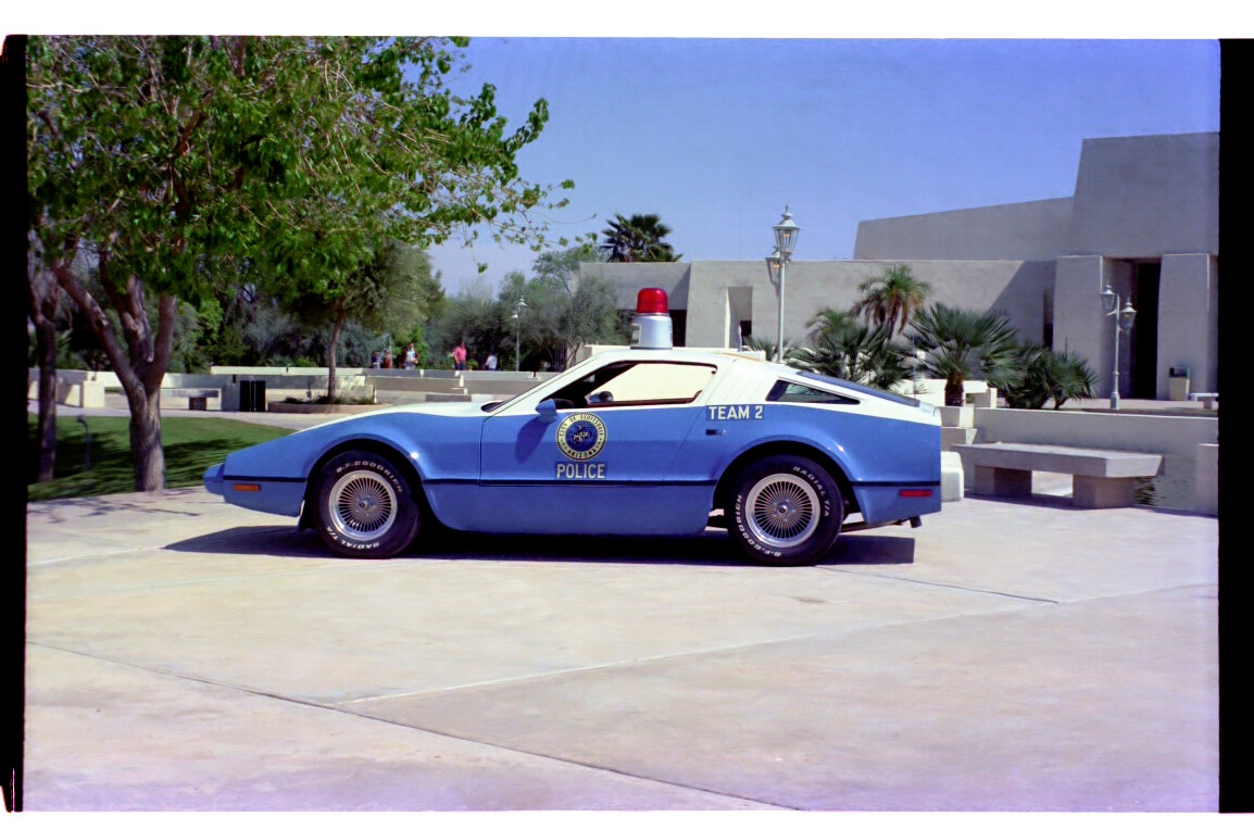 Bricklin Sv 1 Scottsdale Police Cars Page 1